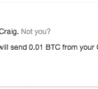 Accept bitcoin payments inline with Coinbase payment iFrames