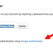 You can now use Google Authenticator for Two-Factor Authentication