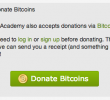 Khan Academy now accepts bitcoin donations! (using Coinbase)