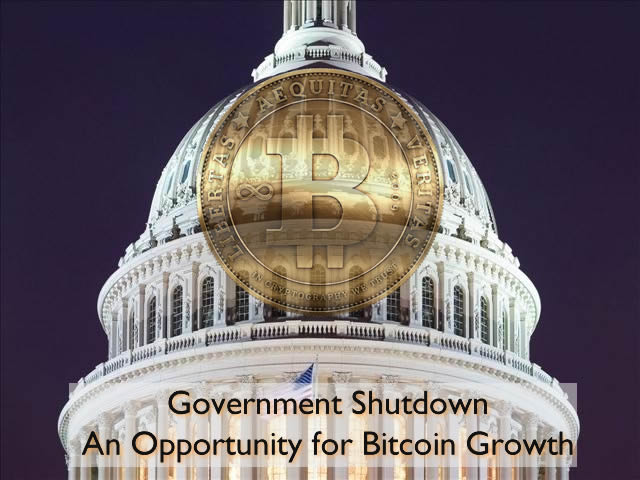Government Shutdown – An Opportunity for Bitcoin