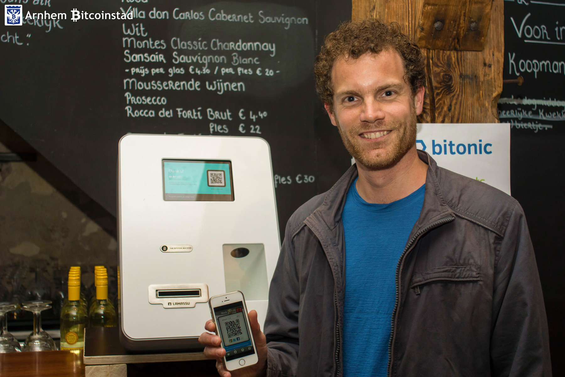 Arhem Bitcoincity event ATM