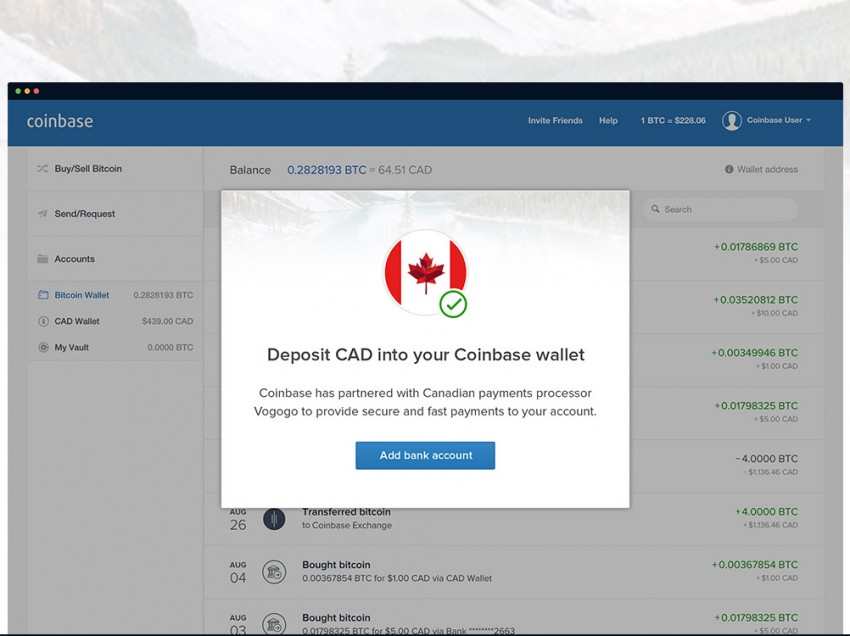 Coinbase Expands to Canada